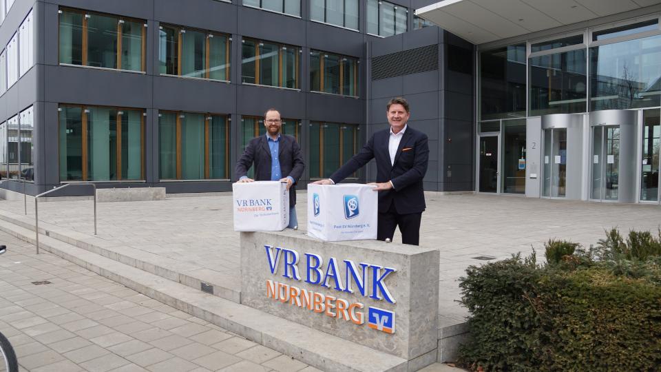 VR Bank Nürnberg und Post SV Nürnberg verlängern das Hauptsponsoring vorzeitig bis 2024