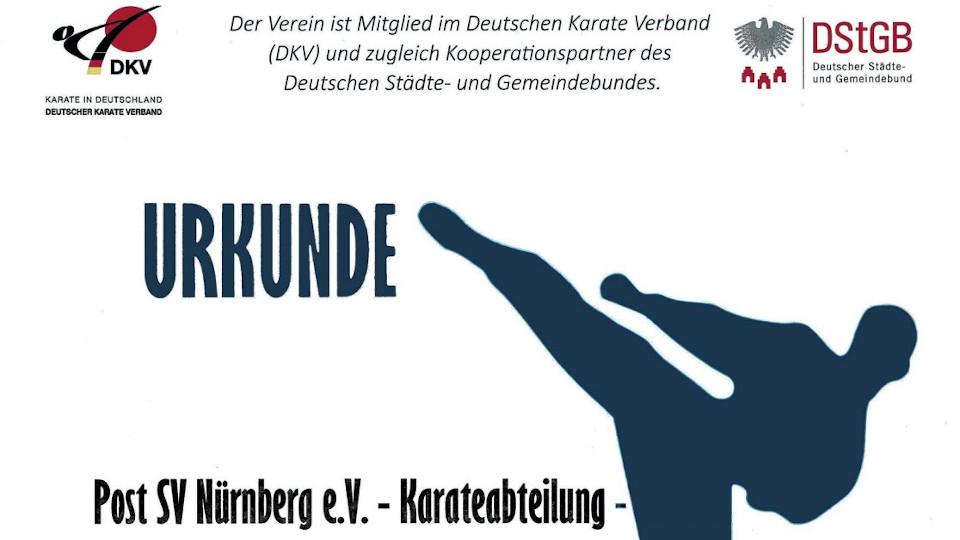 Karateabteilung nimmt an der Kooperation der DKV-Vereine und dem DStGB teil.