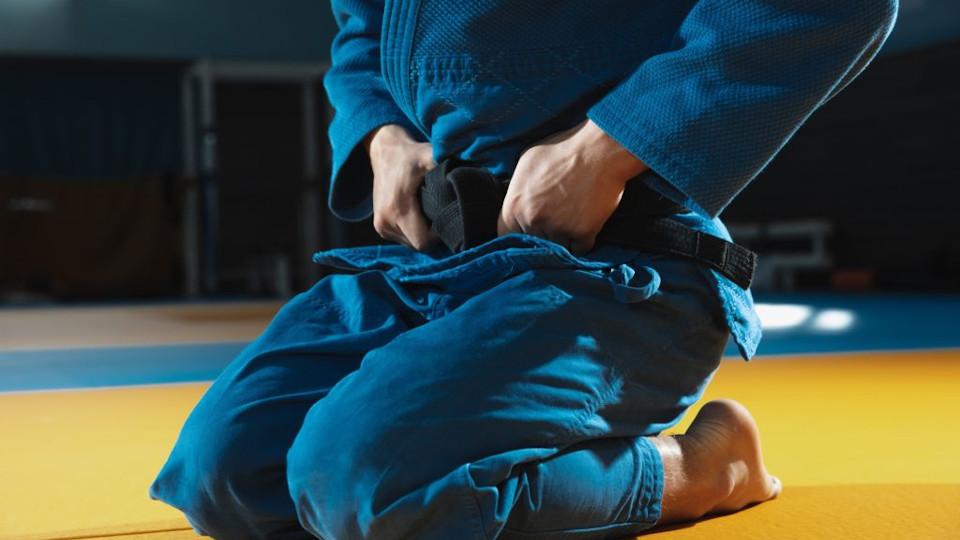 Trainingsbeginn der Judoabteilung