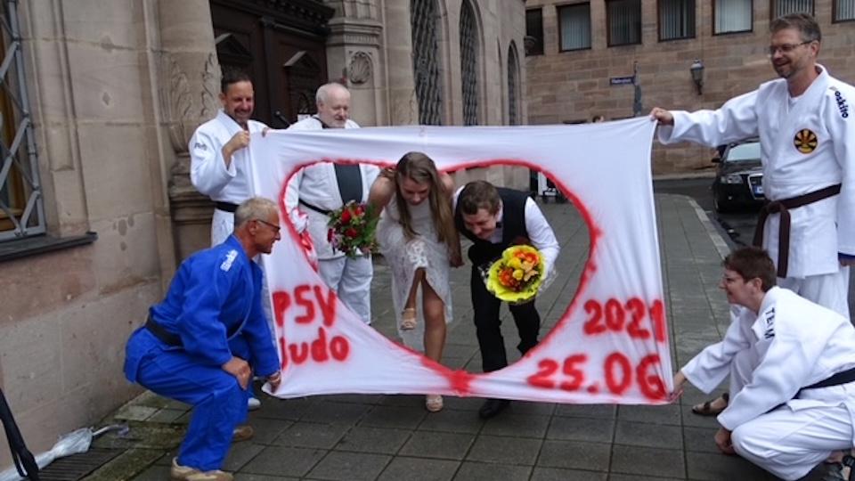 Judo Hochzeit!