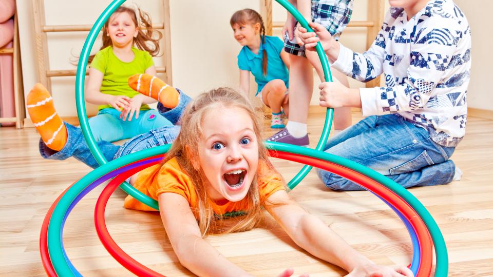 Hula Hoop Workshop für Kinder