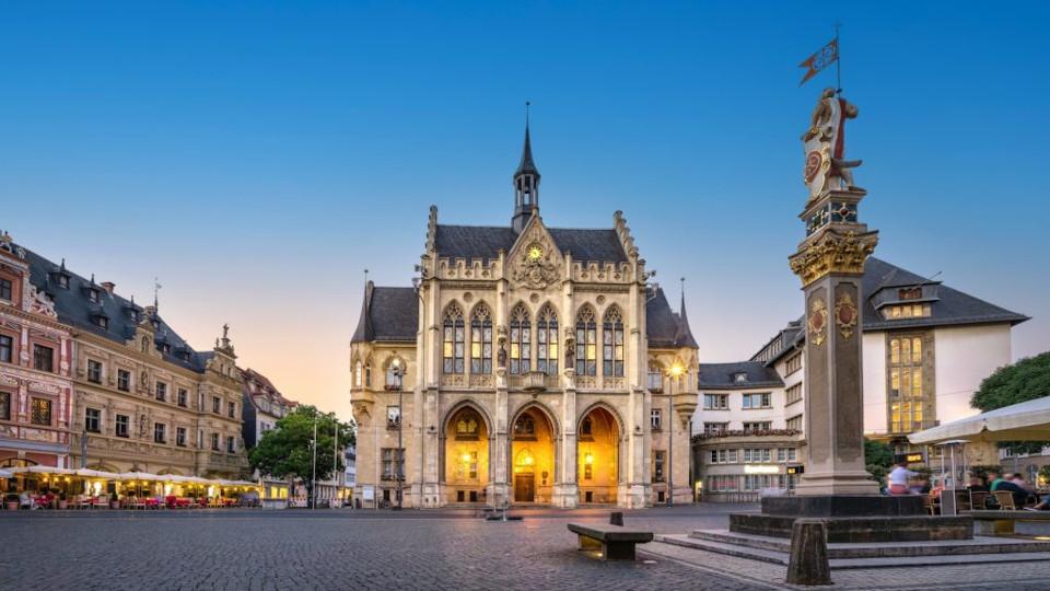 Reise nach Erfurt am 25.09.21