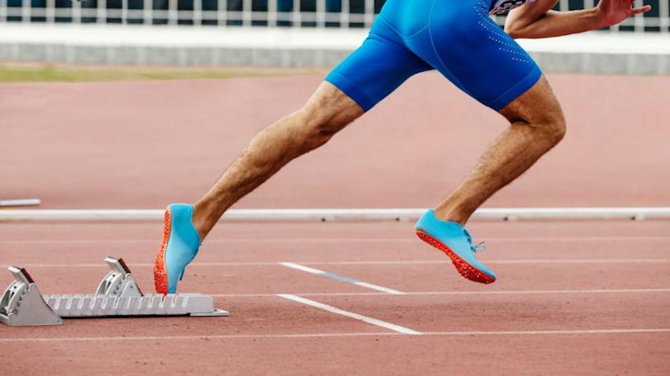 Großer Andrang bei der Leichtathletik